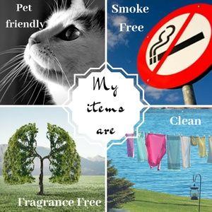 Pet Friendly Fragrance Free Smoke Free